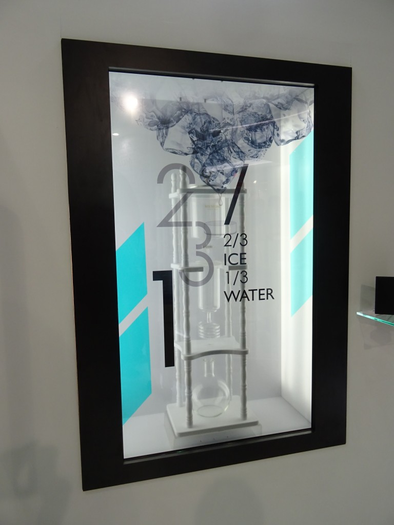 Glass display